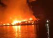 Incendie ravageur à Albina 2, base arrière de l'activité aurifère illégale