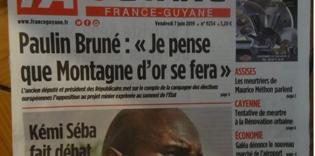 L'avenir de France-Guyane reporté au 14 janvier