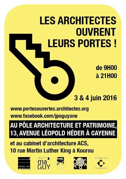 les architectes ouvrent leurs portes site d information g 233 n 233 raliste et politique en guyane