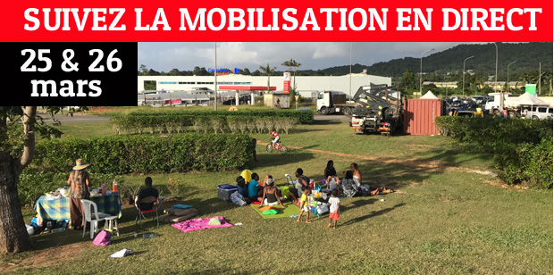 La mobilisation en direct !