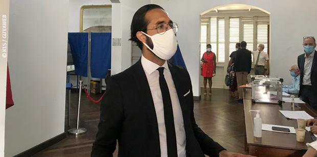 Sénatoriales: «Il n'existe pas une élection qui soit un fleuve tranquille» Mahrez Abassi, président du tribunal judiciaire de Cayenne