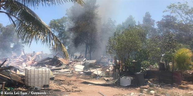 L'opération de démolition d'habitations et d'évacuation de la Mâtine, effectuée sans huissier de justice, susceptible d'être entachée d'irrégularité