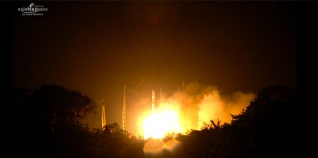 Le tir de Soyouz avec un satellite militaire des Emirats Arabes Unis est bien envisagé dimanche soir
