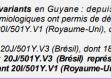 Deux soignants de Guyane infectés une seconde fois par le Covid-19, possiblement par le variant préoccupant brésilien de Manaus selon les autorités…