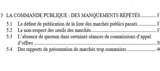 Les marchés de la CCOG encore pointés du doigt pour «irrégularités», fin 2013 un seul élu y a attribué un marché de 9 millions d'euros selon la Chambre régionale des comptes !