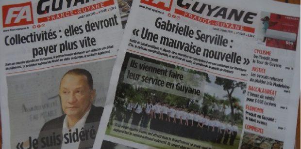 L'audience au tribunal de commerce de Fort de France qui doit se pencher sur l'avenir de France-Guyane reportée