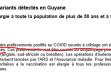 Coup de théâtre dans l'affaire de variants du Covid-19 trouvés chez quatre habitants de Guyane, le directeur d'Eurofins affirme n'avoir jamais dit qu'il s'agissait à coup sûr de l'un des trois variants préoccupants !