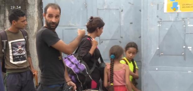Une famille de demandeurs d'asile avec deux enfants, expulsée de la Pointe Buzaré lundi, obtient un relogement ce jeudi