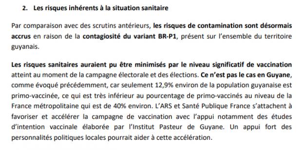 Gravité de la situation sanitaire en Guyane, personnes avec comorbidités refusant la vaccination, rôle de la séroprévalence en matière d'immunité collective, maintien du scrutin… un expert du conseil scientifique français dit tout !