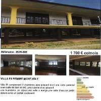 Villa F4 + Montjoly