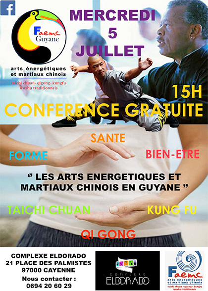 Conf rence arts nerg tiques et martiaux chinois site d for Les arts martiaux chinois
