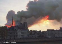Notre-Dame de Paris part en fumée
