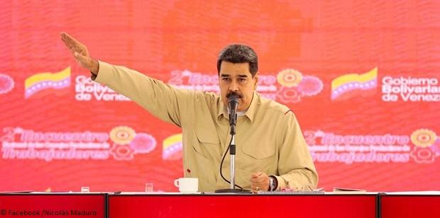 Maduro admet des contacts avec les Etats-Unis