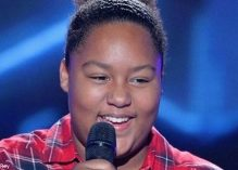 Accueil de Mélia Rey, finaliste de l'émission The Voice Kids